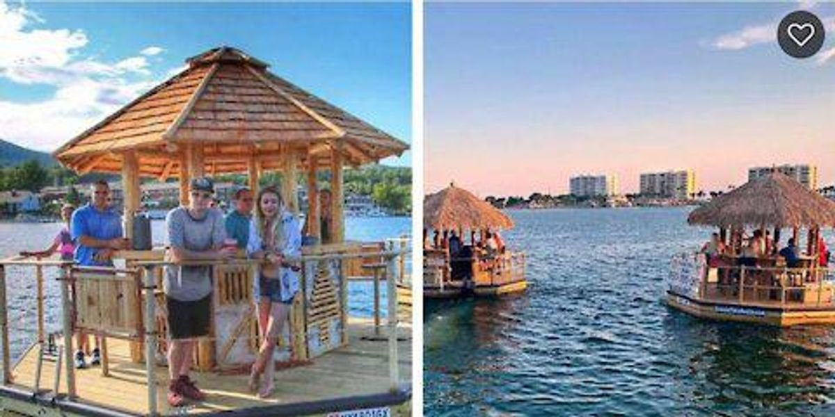 You Can Rent A Floating Bar At Wasaga Beach This Summer & It's Like A Trip To The Tropics