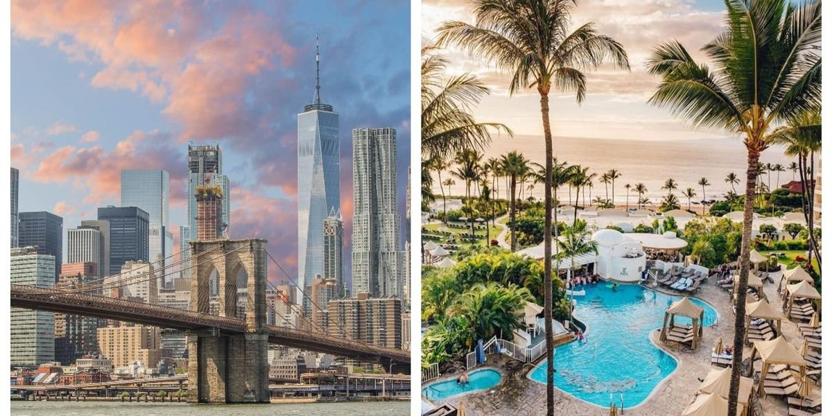Canadians Are Desperate To Vacation In The US & These 6 Spots Are The Most In-Demand