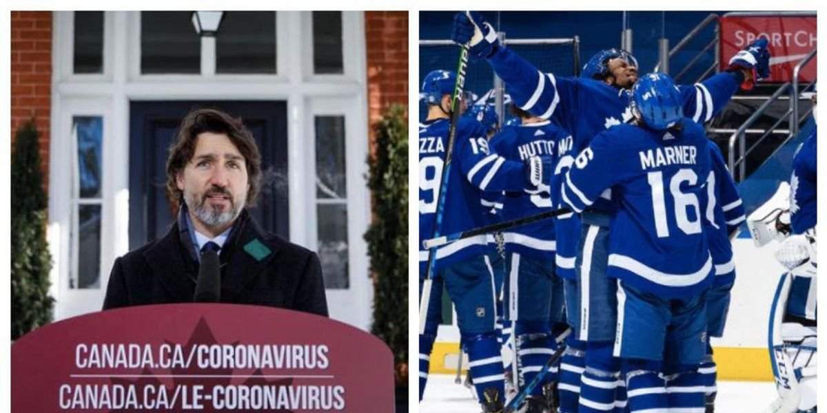 Trudeau Says The Maple Leafs Winning The Stanley Cup This Year Is 'Unthinkable' - cover