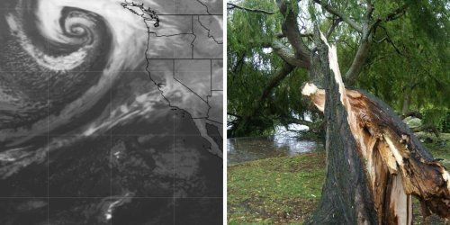 A Powerful 'Bomb Cyclone' Is Heading For BC & Hurricane-Force Winds Could Hit Some Areas