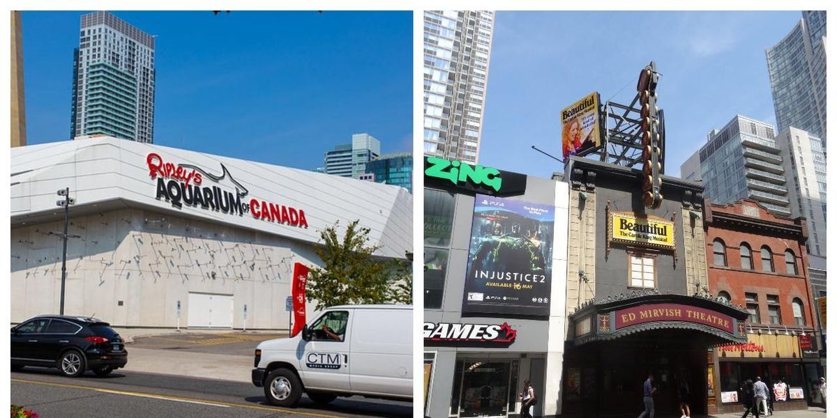 Toronto Attractions Like Ripley's & Mirvish Warn It Could Close Forever If Not Opened Soon