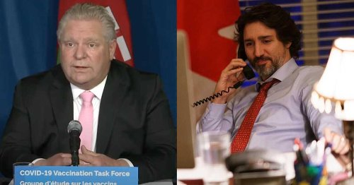 Trudeau Reached Out To 3 Atlantic Premiers About How To 'Help' Ontario Right Now