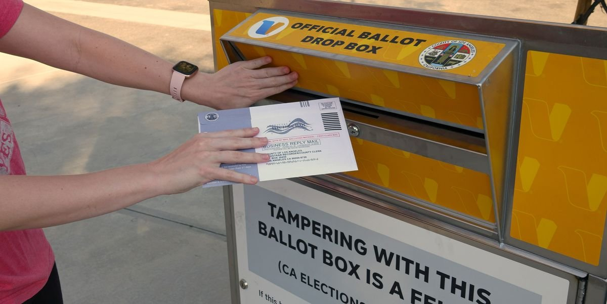 More People Have Voted Early In California Than Currently Exist In Delaware