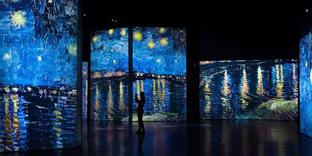 Van Gogh's Breathtaking 'Starry Night' Experience Is Coming To The US This Fall