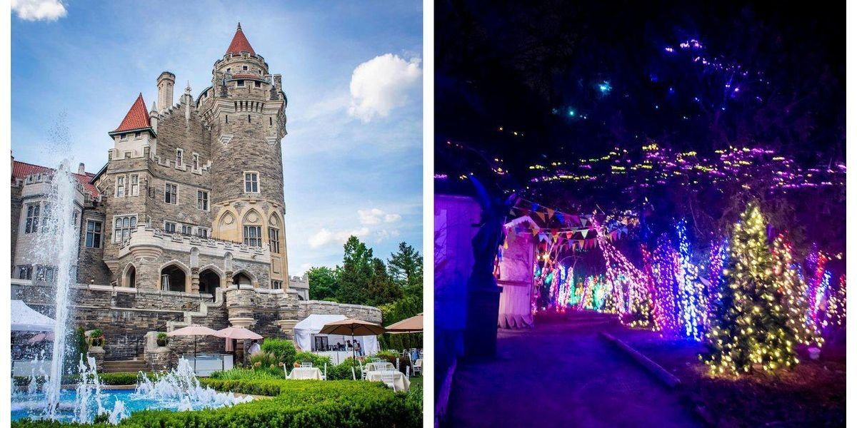 Casa Loma's Dazzling Light Forest & Dragon Experience Is Officially Opening This Month