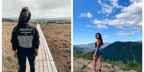 Ce hike avec passerelle au Québec donne l'impression d'être seul au monde