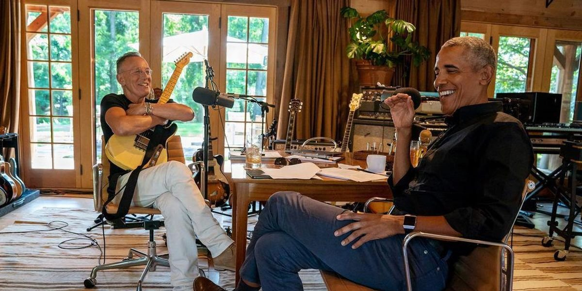 Barack Obama & Bruce Springsteen Are Getting Super Personal With A New Book This Fall