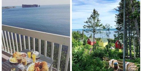 7 endroits que tu peux « booker » dès maintenant pour ton voyage en Gaspésie cet été