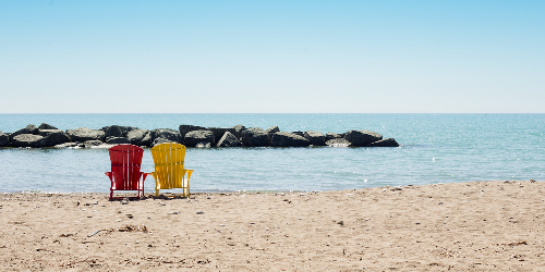 Toronto Is Finally Getting That Gorgeous Beach Weather You've Been Waiting For