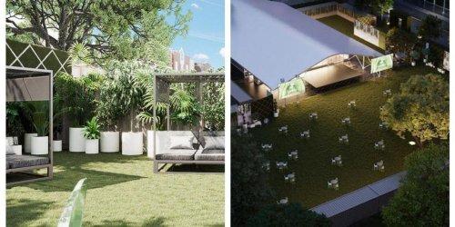 Ce méga jardin-terrasse qui se transforme en ciné-parc le soir débarque à Montréal cet été