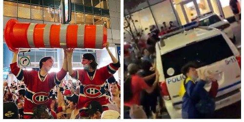 Les Habs passent en demi-finale et les fans étaient en délire à Montréal (VIDÉOS)