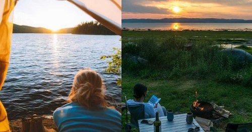 6 campings avec une vue WOW au Québec qui valent le détour