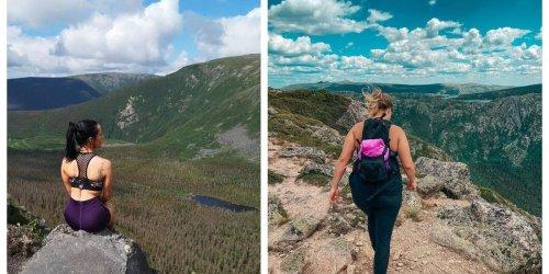 La vue du haut de ce sommet de 1140 mètres au Québec vaut chaque goutte de sueur