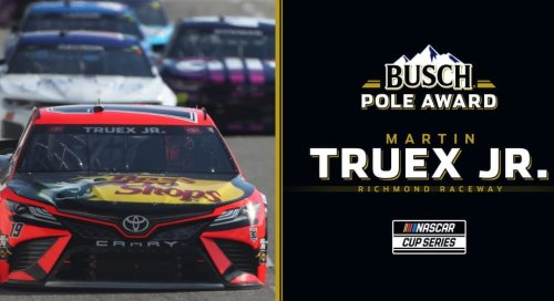 Busch Pole Award to Martin Truex Jr. for Richmond | NASCAR
