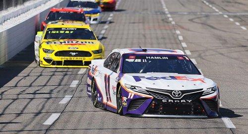 Dominant days turn sour for Hamlin, Blaney at Martinsville | NASCAR