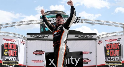 Josh Berry lands first career win in Martinsville victory | NASCAR