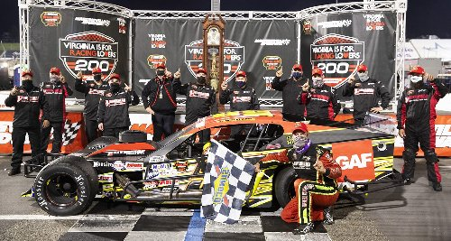Eric Goodale happy with extra expense from Martinsville | Official Site Of NASCAR