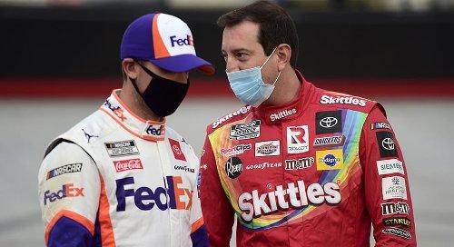 Denny Hamlin roars into Richmond, aims for season's first win | NASCAR