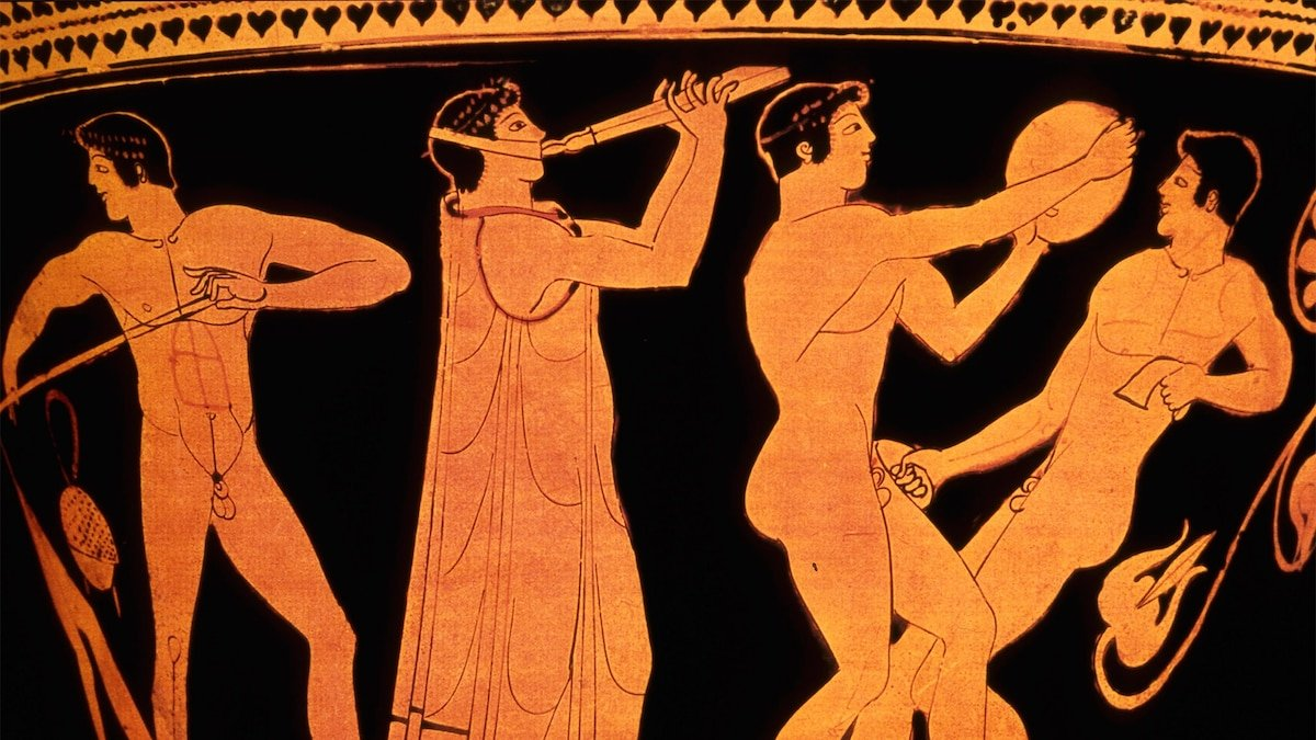 Ancient Olympics had 'spectacular' opening ceremony, pagan partying