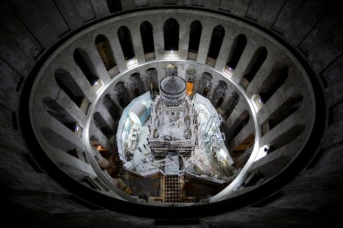 Christ's burial place exposed for first time in centuries