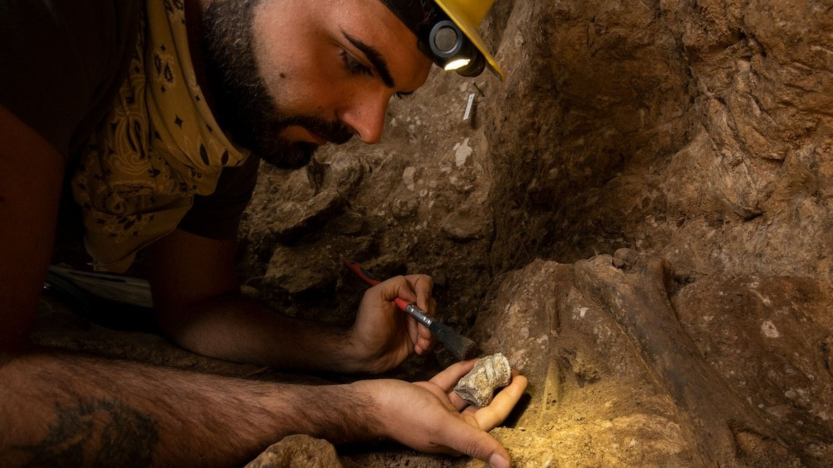 Were Neanderthals making 'art' in Europe's fabled Unicorn Cave?