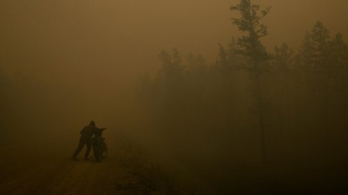 Siberia's massive wildfires are unlocking extreme carbon pollution