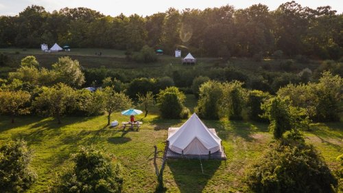 As travel opens up, glamping is helping 'indoorsy' families get outside