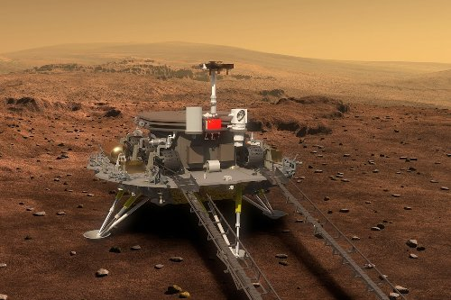 China's Zhurong Mars rover touches down on the red planet