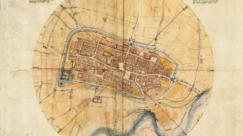 Leonardo da Vinci transformed mapping from art to science