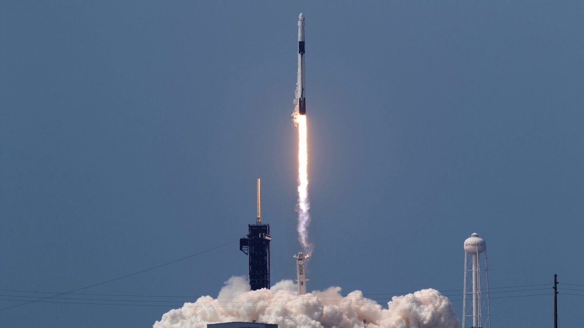 SpaceX launches new era of spaceflight with company's first crewed mission