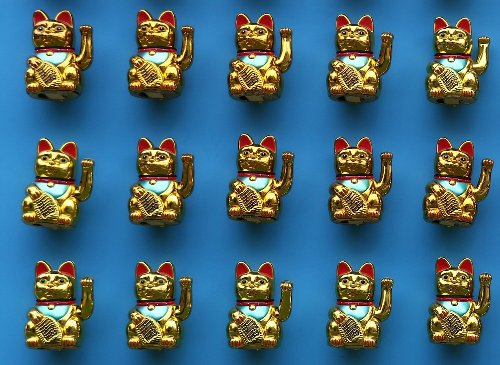 The fascinating history behind the popular 'waving lucky cat'