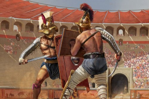 Take a step inside a gladiator's arena