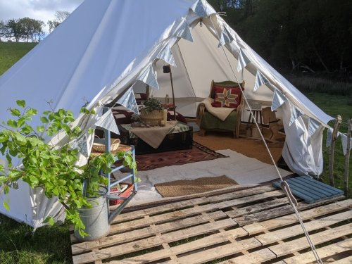 13 incredible family glamping experiences in England and Wales