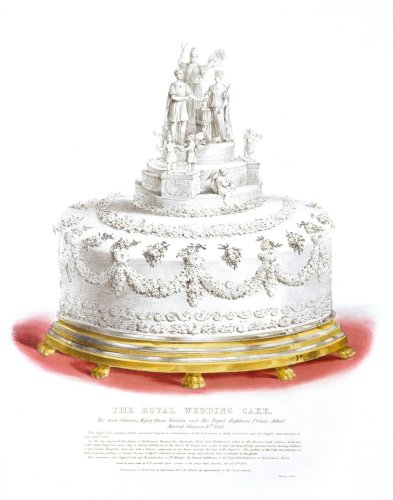 Queen Victoria's 300-pound wedding cake set a big new trend for brides