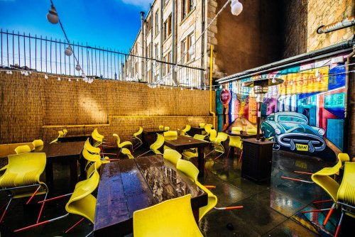 The eight best restaurants for outdoor dining in Glasgow