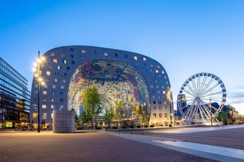 How to plan a walking tour of Rotterdam's standout architecture