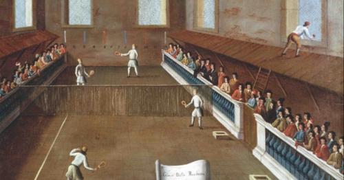 El tenis, el deporte de moda en el Renacimiento