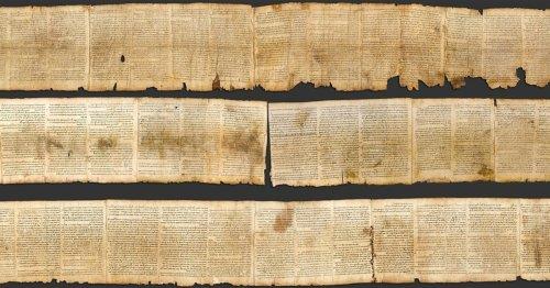 """Dos escribas distintos escribieron el """"Gran rollo de Isaías"""""""