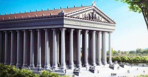 Eróstrato, el pastor que destruyó el templo de Artemisa