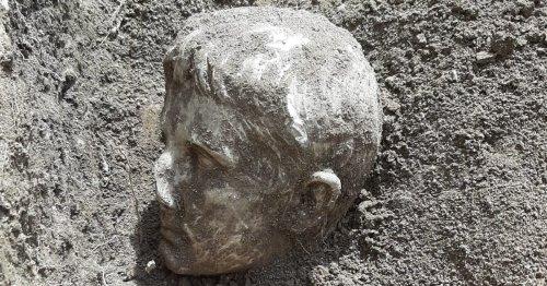 Descubren una cabeza de Augusto en la ciudad italiana de Isernia