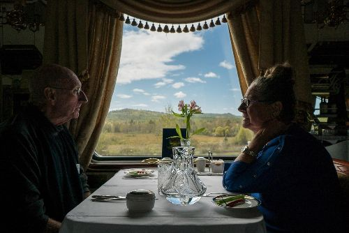 See what it's like to travel on the Trans-Siberian Railway