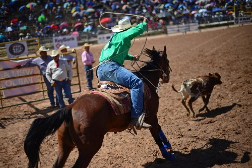 Go inside the close-knit world of Native American rodeo