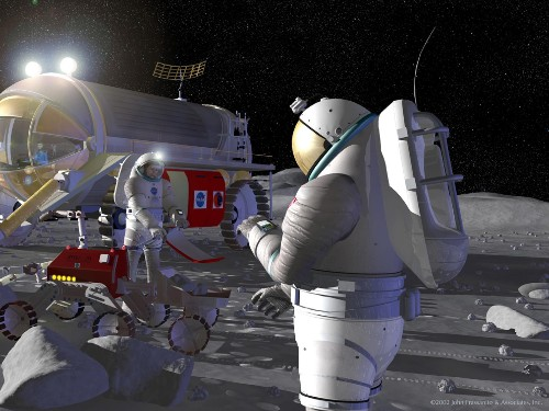 The future of spaceflight—from orbital vacations to humans on Mars