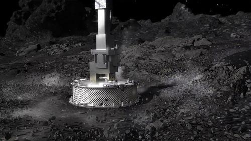 Daring NASA mission touches asteroid
