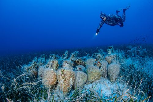 Diving into Greece's first underwater museum