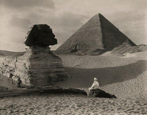 Gizeh, Paris, Las Vegas: Vintage Bilder von Pyramiden auf der ganzen Welt