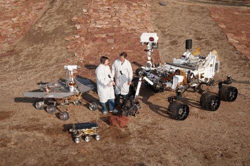Die faszinierende Reise des Rovers Curiosity in Bildern