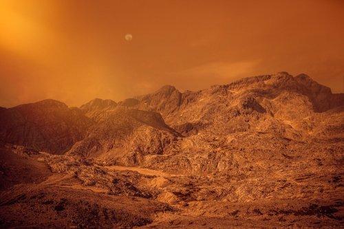 Mars aurait été habitable bien avant la Terre