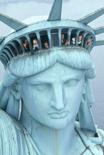 La construction de la statue de la Liberté en images