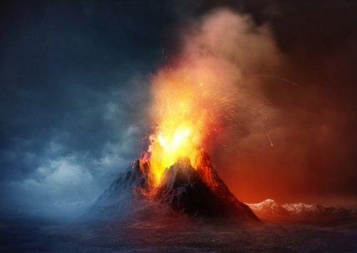 Comment les premiers Hommes ont-ils survécu à l'éruption du super-volcan Toba ?